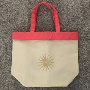 Guerlain Be Happy & Glow Canvas Tote Bag